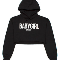 VFILES - BABYGIRL CROPPED HOODIE