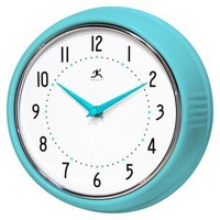 Solid Ironwall Clock - Turquoise