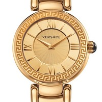 Women's Versace 'Leda' Guilloche Dial Bracelet Watch, 38mm