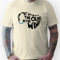 Just Around the Riverbend Unisex T-Shirt