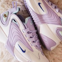 Nike Zoom 2K Trending Women Personality Retro Sport Running Sneakers Sport Shoes Purple