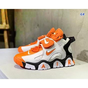 NIKE Air Barrage Mid Fashion New Hook Women Men Sports Running Shoes 4#