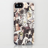 ONE DIRECTION LOUIS TOMLINSON - COLLAGE1 iPhone & iPod Case by Amy.