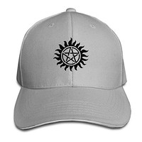 Supernatural Emblem Cool Baseball Snapback Cap Hat