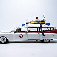 Hot Wheels Collector Ghostbusters Ecto-1 Die-cast Vehicle (1:18 Scale)