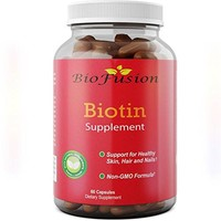 Pure Biotin Supplement - Vitamin B7 for Hair Loss - Strengthens Hair to Reduce Breakage - Good for Skin and Nails -...