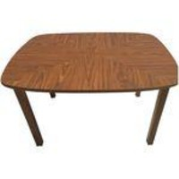 Mid-Century Square Dining Table