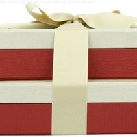 Swerseys Chocolate Elegant and Sophisticated Gift Tower Boxes Number 33, 2 Count