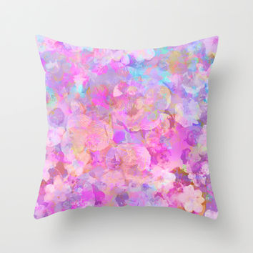 Spring #3 Throw Pillow by Ornaart   Society6