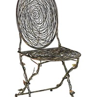 Nest Folding Chair - Side Chairs -  Kitchen And Dining Room Furniture -  Furniture | HomeDecorators.com