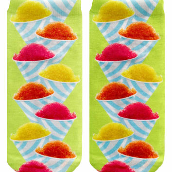 Snow Cone Ankle Socks