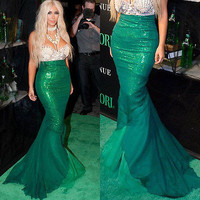Mermaid Maxi Skirt Halloween Costume