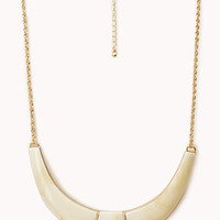 FOREVER 21 Curved Bib Necklace