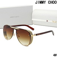 JIMMY CHOO Summer Fashion Woman Men Sun Shades Eyeglasses Glasses Sunglasses 4#