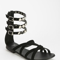 Ecote Outlaw Studded Caged Sandal - Urban Outfitters