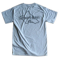 SURFBOARDS HAWAII ISLAND S/S T SHIRT WHITE MED