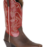 Ariat Legend Rowdy Mega Red Cowgirl Boots - Square Toe - Sheplers