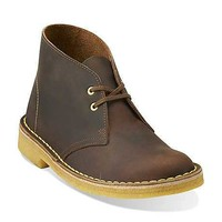 Desert Boot-Women in Beeswax Leather / Yellow Crepe - Womens Desert Boot from Clarks