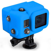 Xsories Silicone Cover Snug-Fit Gopro Case Blue One Size For Men 24806420001
