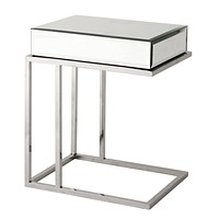 Mirror Glass Side Table | Eichholtz Beverly Hills