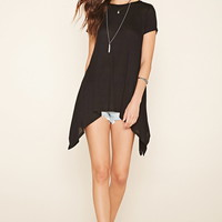 Longline Burnout Trapeze Top