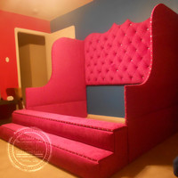 Day bed, tufted bed, oversize bed, storage bed, twin, full, queen, king sizes available. Custom made bed