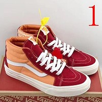 Trendsetter Vans Women Men Fashion Casual Mid-Top Shoes