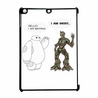 Hello I Baymax I Groot iPad Air Case