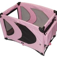 Pet Gear Pink Ice Home N' Go Soft Dog Pen