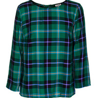 SPLENDID Snowpeak Plaid Green Top im Karo-Look - What's new