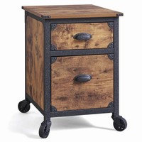 Better Homes and Gardens Rustic Country File Cabinet, Weathered Pine Finish - Walmart.com