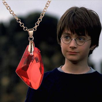 New Arrival in the new European and American fashion sheet is tasted The philosopher's stone harry potter necklaces Freeshipping