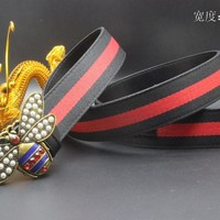 Gucci Belt Men Women Fashion Belts 537953