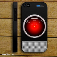 Aluminum Look HAL 9000 HELLO DAVE Case Iphone iPhone Case And Samsung Galaxy Case