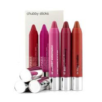Clinique Chubby Stick Trio Set (#07 Super Strawberry, #11 Two Ton Tomato, #13 Mighty Mimosa)