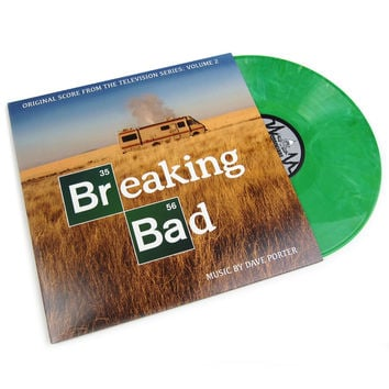 Dave Porter: Breaking Bad OST Vol.2 (Green Vinyl, Free Poster) Vinyl 2LP