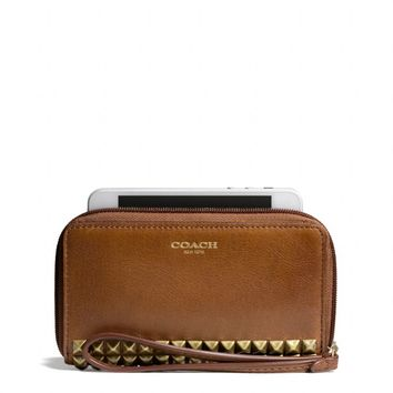 LEGACY EAST/WEST UNIVERSAL CASE IN STUDDED LEATHER