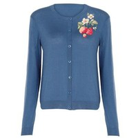 Cath Kidston - Wild Strawberry Placement Cardigan
