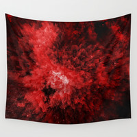 Enana roja Wall Tapestry by MJ Mor
