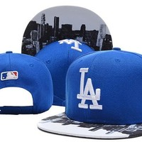Perfect MLB LosAngeles Dodgers Snapback hats Women Men Embroidery Sports Sun Hat Baseball Cap Hat