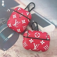 Louis Vuitton LV Hot Sale Printed Letters AirPods Case