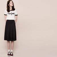 FLARED RIBBED SKIRT - NEW PRODUCTS - NEW PRODUCTS - PULL&BEAR United Kingdom