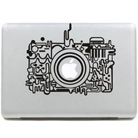 MacBook Abstract Camera Sticker Decal - PFLAPSTICKERD