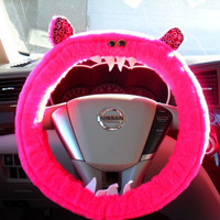 Made 2 Order LAFAYETTE Pink GENUINE Monster Steering Wheel Cover