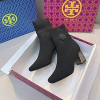 Tory Burch Knit Ankle Boot