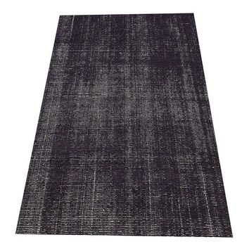 Pre-owned Restoration Hardware Distressed Navy Rug - 9' x 12