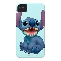 Lilo & Stitch Stitch excited iPhone 4 Cases from Zazzle.com