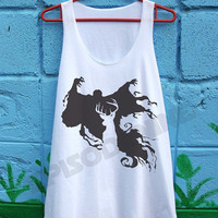Expecto Patronum Magic Spell Shirt Harry Potter Shirts Loose Fit Tank Top Women Clothing Size S M
