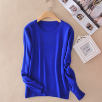 Sweater Women Pullovers Winter Long Sleeve Wool Female Pullovers Kintted pull femme Cashmere Women Sweaters and Pullovers