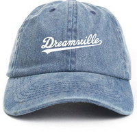 Dreamville Denim Custom Unstructured Baseball Dad Hat Cap J Cole TDE New